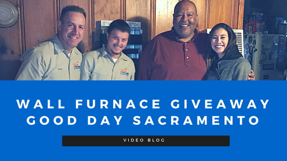 WALL FURNACE GIVEAWAY