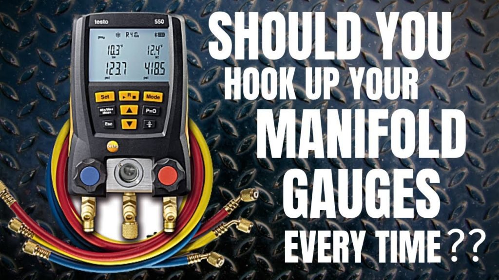Should You Hook Up Your Manifold Gauges Every Time?