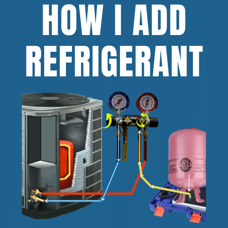 How To Add Refrigerant to AC