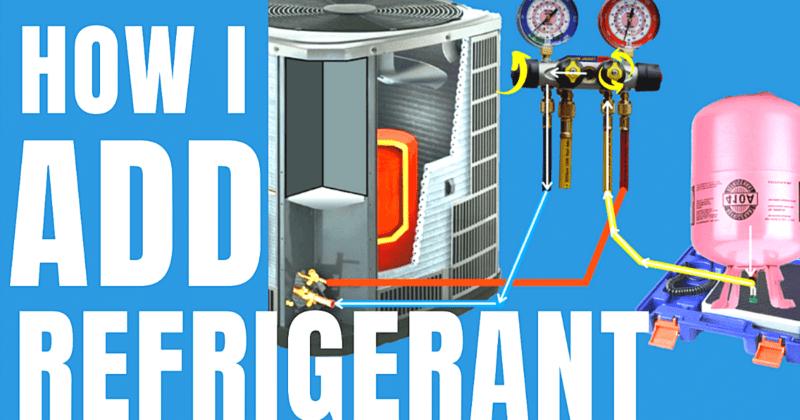 How I add refrigerant