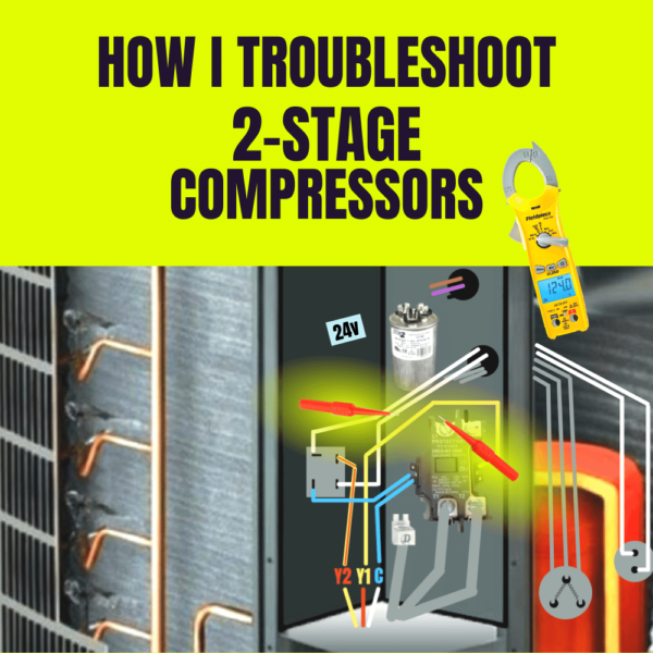 Troubleshooting a 2 stage compressor